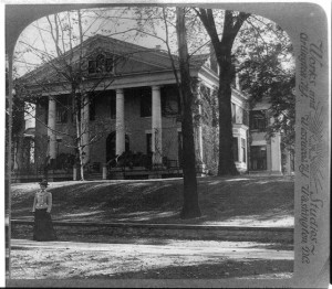 Ansley Wilcox House, site of Theodore Roosevelt's 1901 inauguration.