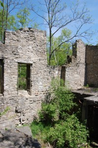 Darnley Grist Mill Ruins at Crooks Hollow