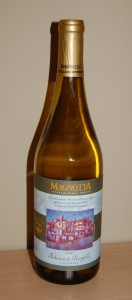 A bottle of Magnotta wine.
