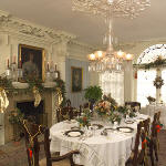 Dining room at Theodore Roosevelt Inagural Historic Site